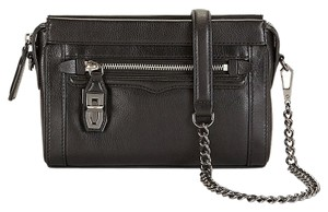 Rebecca Minkoff Genuine Leather Black Cross Body Bag