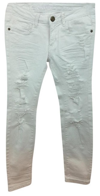 Preload https://img-static.tradesy.com/item/17954398/distressed-cotton-blend-white-jeans-5-size-4-s-27-0-2-650-650.jpg