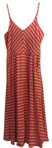 Cynthia Rowley short dress pink and grey Summer Stretch on Tradesy