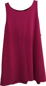 Ann Taylor Red Top Hot Pink