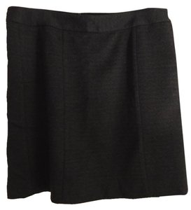 Ann Taylor Skirt Black and Grey