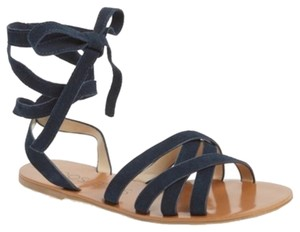 Sole Society Navy Sandals