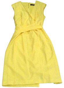 Ellen Tracy short dress Lemon on Tradesy