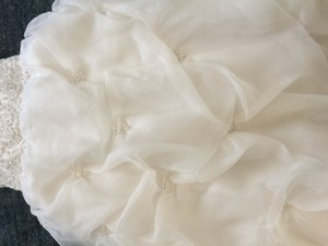 Oleg Cassini Strapless Wedding Dress