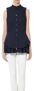 Derek Lam Top Navy