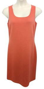 St. John short dress Salmon Knit on Tradesy