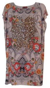 ISLE Animal Color Poly Knit Stretchy Dress