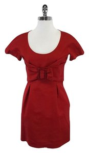 See by Chlo short dress Red Short Sleeve on Tradesy