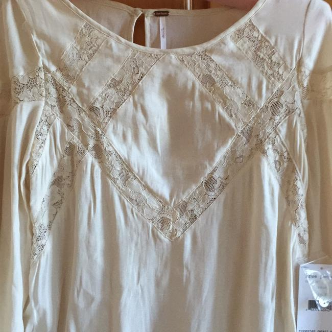 Free People Geometry Lessons Boho Peasant Xs Top Image 2