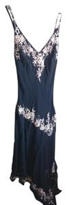 Cache Sparkle Embroidered Floral Dress