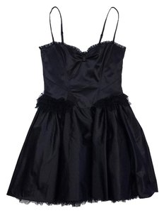 Betsey Johnson short dress Black Spaghetti Strap on Tradesy