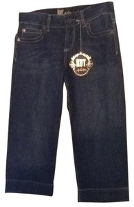 KUT from the Kloth Capri Jean Capri/Cropped Denim-Medium Wash