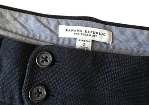 Banana Republic Trouser Pants Grey/Black