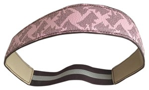 Juicy Couture Juicy Couture Scottie Print Pink Headband