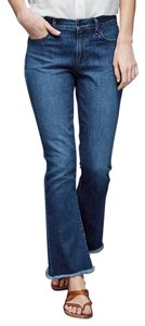 Gap 1969 Cotton Denim Blue Flare Leg Jeans-Medium Wash