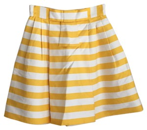 Kate Spade Skirt White yellow