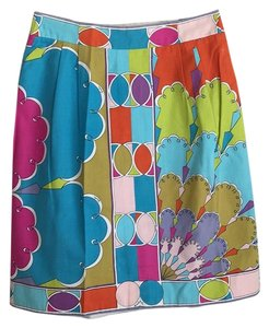 Emilio Pucci Skirt Fushia, aqua, orange, lime green, etc