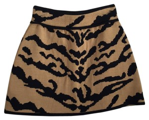 Missoni Mini Skirt Beige and black