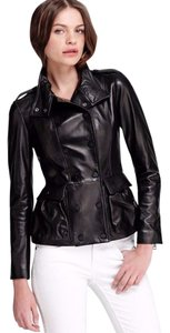 Burberry Moto Leather Fall Lambskin Coat Leather Jacket