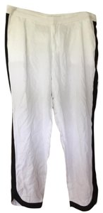 Banana Republic Capri/Cropped Pants White/Black