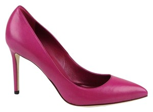 Gucci Leather Pointed Toe Magenta/5523 Pumps
