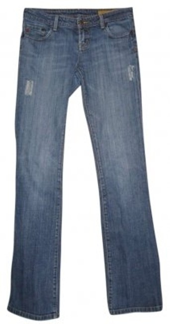 Preload https://img-static.tradesy.com/item/179598/7-for-all-mankind-blue-distressed-flare-leg-jeans-size-28-4-s-0-0-650-650.jpg