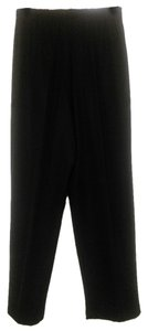 Susan Graver Essentials Wide Leg Pants Black