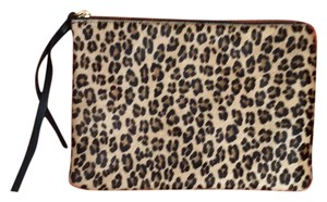 Possé Leopard Print Clutch