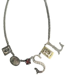 Diesel Collage Necklace