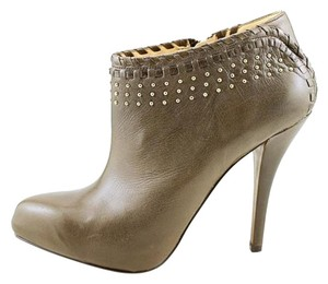 Enzo Angiolini Taupe Leather Boots