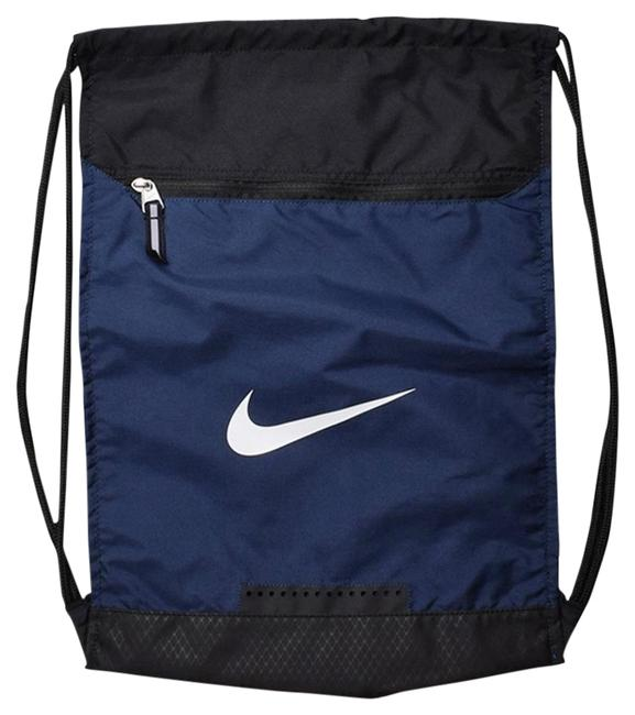 Item - College Or Sports Navy Blue and Black Nylon Backpack