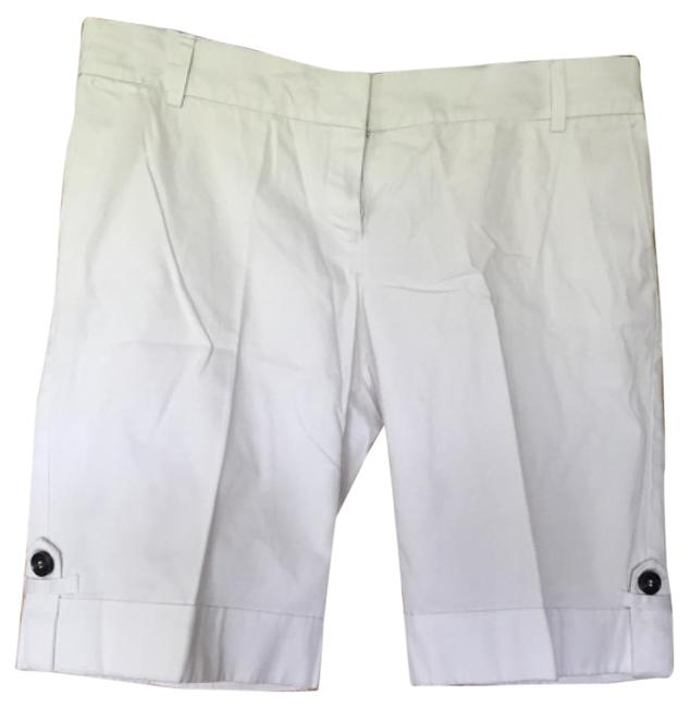 MNG Suit Cuffed Shorts White Image 0