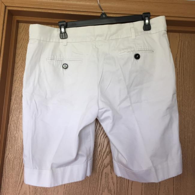 MNG Suit Cuffed Shorts White Image 1