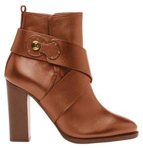 Ralph Lauren Collection Montana Rl Gold Brown Boots