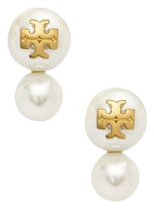 Tory Burch Tory Burch Evie Double-Stud Earrings