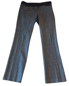 Express Boot Cut Pants Dark gray with black trim