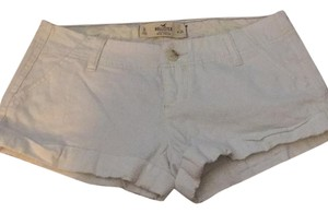 Hollister Cuffed Shorts White