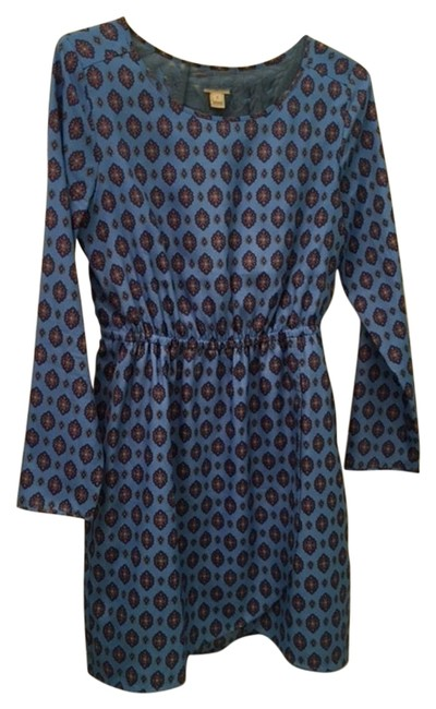 J.Crew Long Sleeve Printed Medallion Dress - 58% Off Retail 50%OFF