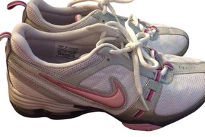 Nike White/Pink Athletic