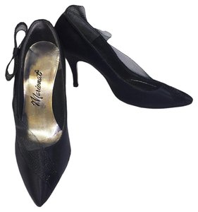 Marionat Pointed Toe Work Casual black Pumps
