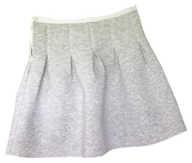 Gap Mini Skirt Grey/Cream Image 0