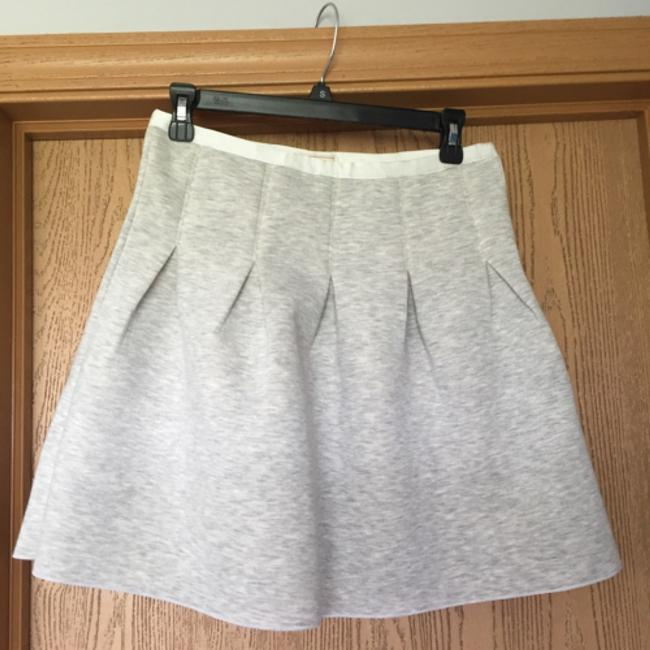 Gap Mini Skirt Grey/Cream Image 1