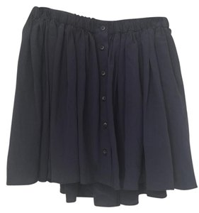Thakoon Addition Brandnew Silk Barneys Elastic Skirt Blue