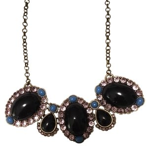 J.Crew Jcrew Vintage Necklace with Multicolored Gemstones
