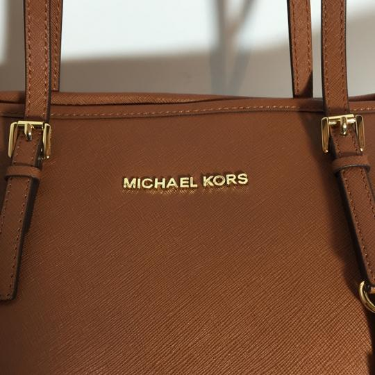 Michael Kors Tote in Luggage Image 4