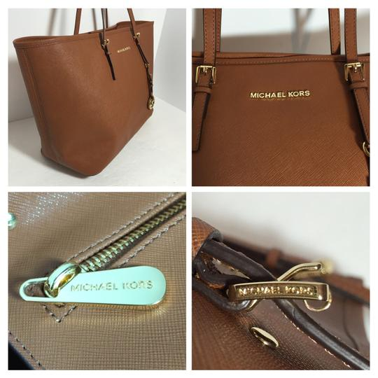 Michael Kors Tote in Luggage Image 8