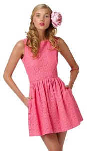 Lilly Pulitzer short dress Pink Party Derby on Tradesy