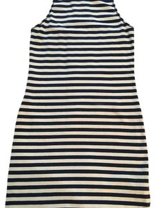 Hollister short dress Blue/white striped on Tradesy