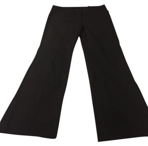 Ann Taylor Boot Leg Work Trouser Pants black