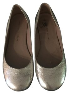 Marc by Marc Jacobs Ballet Round Toe Silver Flats